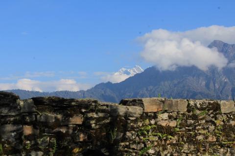 बेथो माछो भ्यु टावर बाट देखिने मनोरम दृश्य